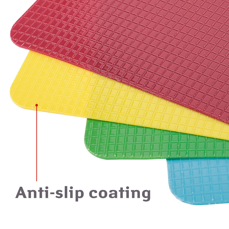 Tatkraft Quatro Hi Quality Flexible Cutting Board Set Of 4