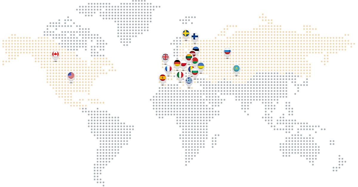 Sales Regions Tatkraft