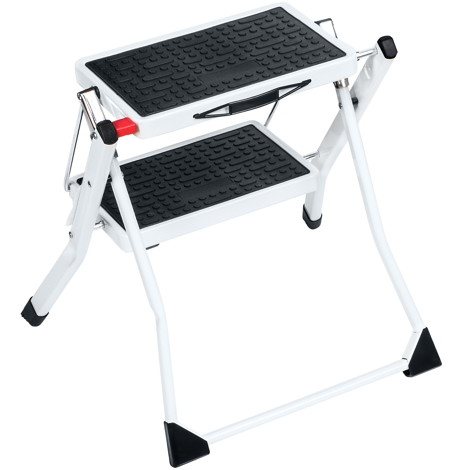 Art Moon Rock 2 Step Ladder Foldable Compact With Anti