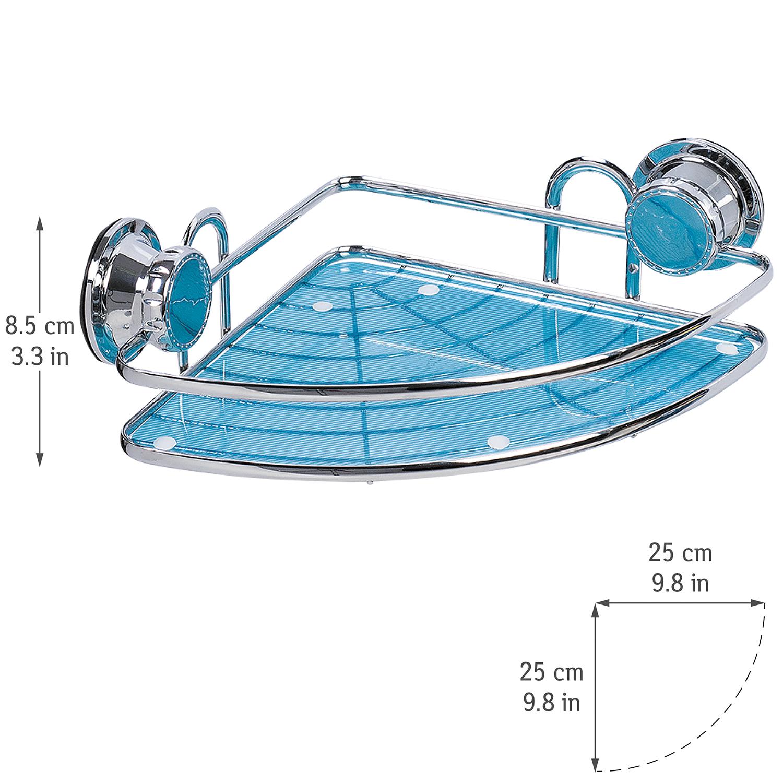 Tatkraft Kaiser Vacuum Screw HARD Corner Bathroom Rack Shower Caddy ...