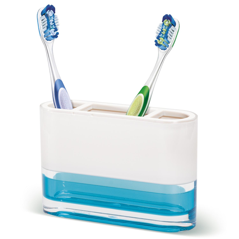 Tatkraft Bathroom Accessories Set: Toothbrush Holder, Soap Lotion ...