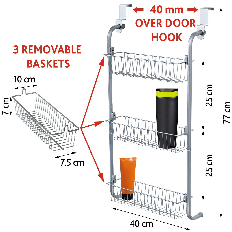 Art Moon Climber Over the Door Hanging Basket Rack Shower Caddy ...