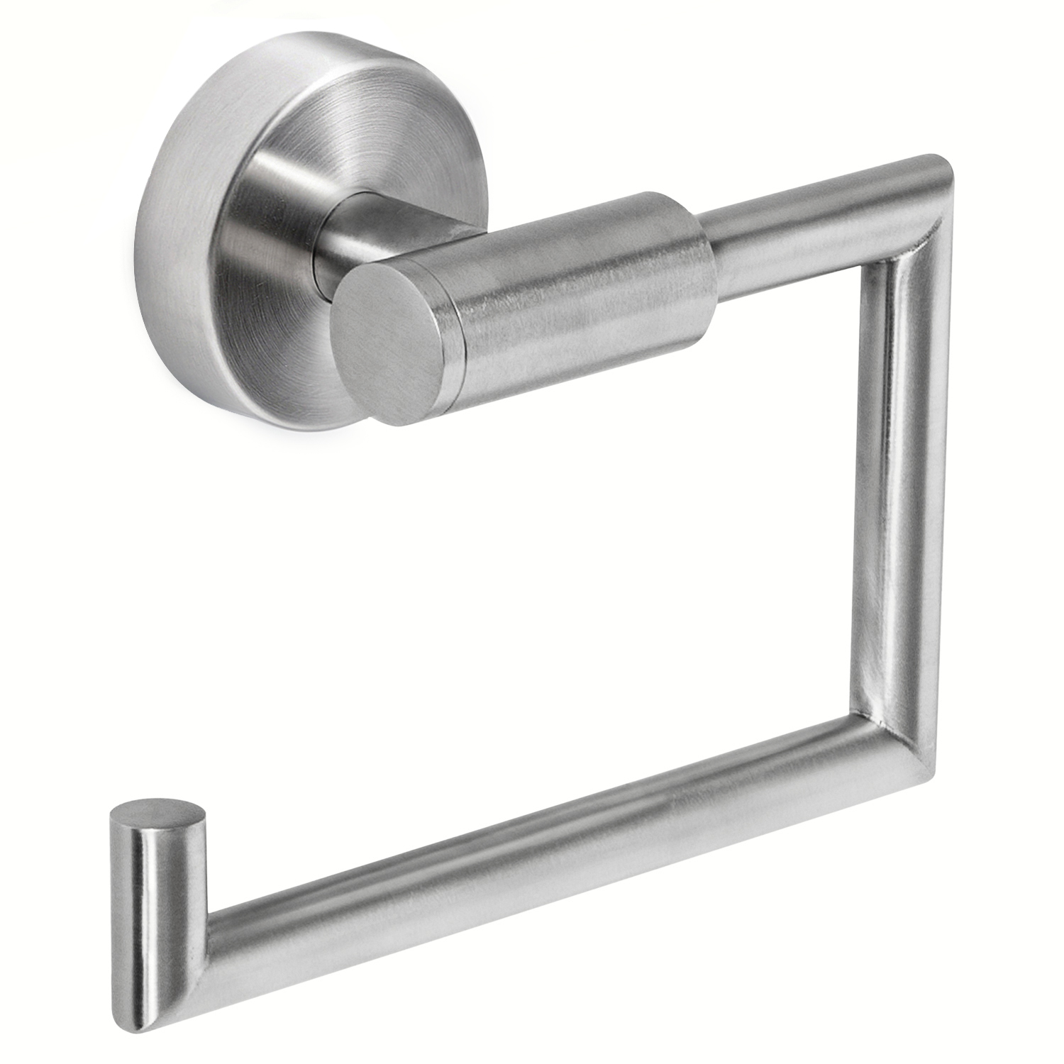 Wonder Worker Hold Toilet Paper Holder Wall Mount No Drill Stainless ...