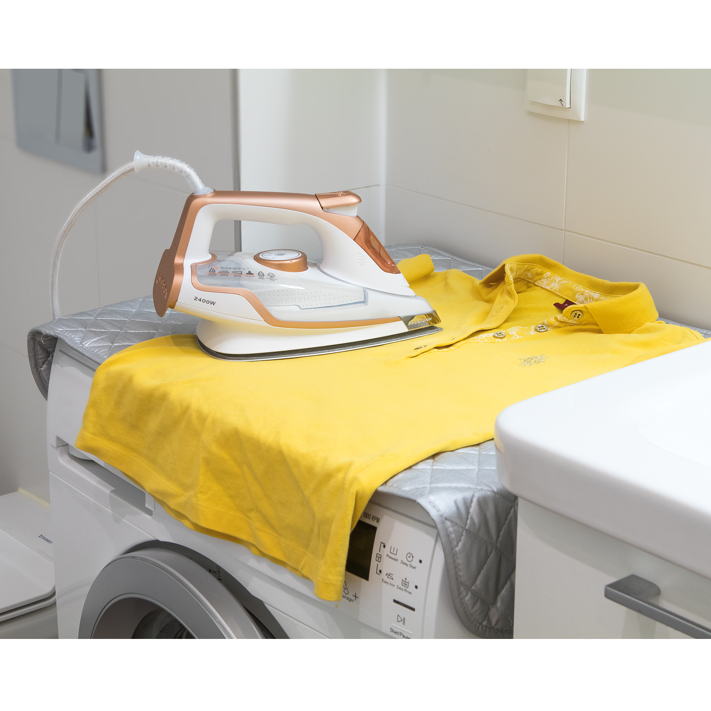 Wonder Worker Flat Magnetic Ironing Mat Heat Resistant Steaming Ironing Blanket 33.5X19