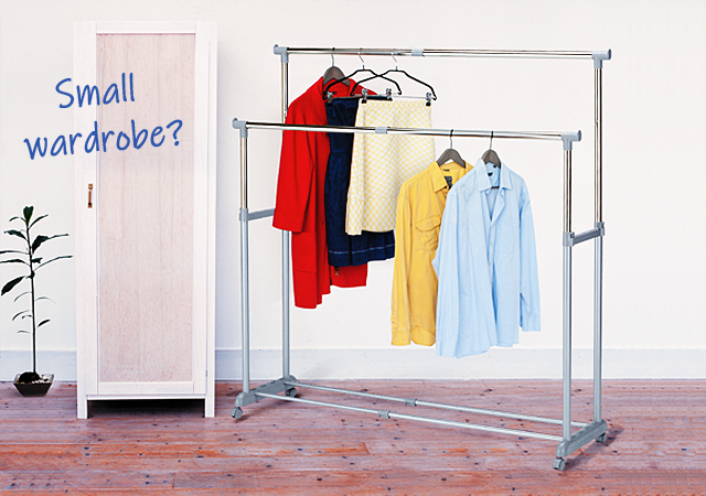 Clothes Rails: Wardrobe Organizing Ideas for Modern Apartments