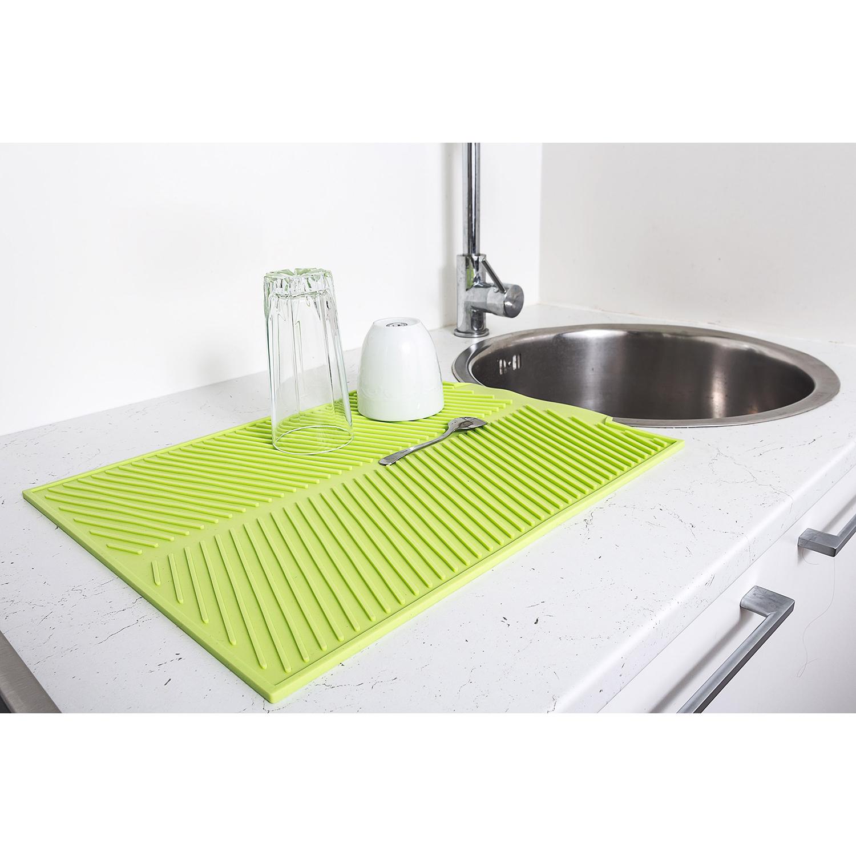 silicone draining mat