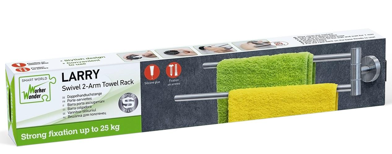 LARRY towel holder package