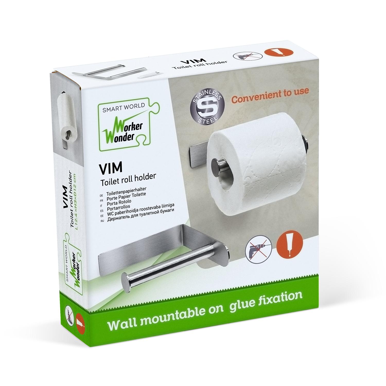 VIM toilet roll holder package