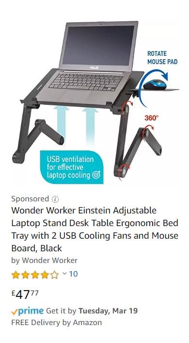 Wonder Worker Einstein advertisement.